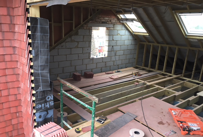 Loft conversion in Batersea